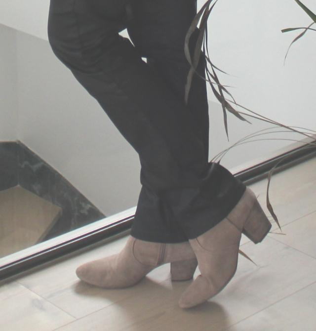 Boots Ash Jean Couleur Pourpre