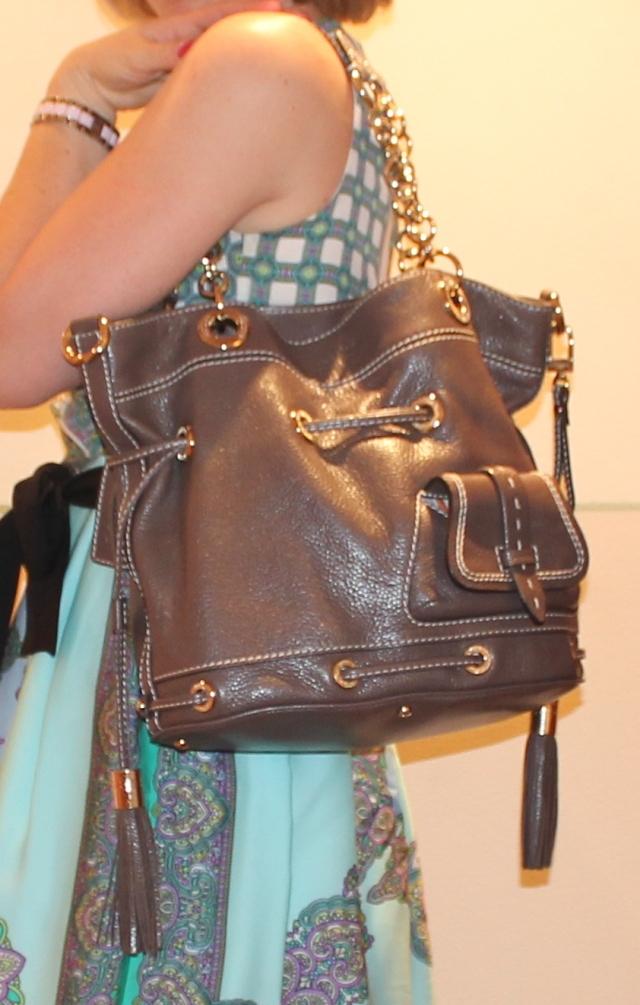 Zoom sur le sac Lancel