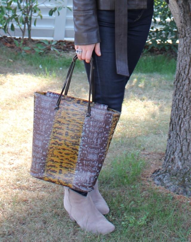 Zoom sur le sac à mains Kenzo
