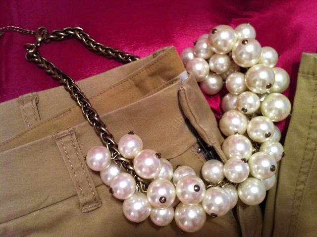 """Collier fantaisie """"grappe de perles"""" by Zara"""