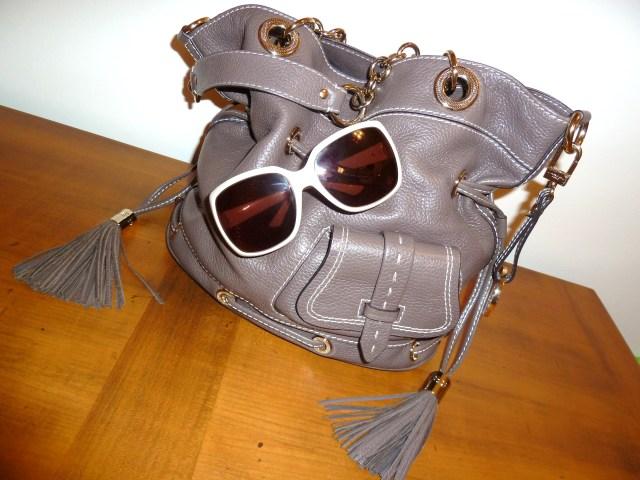 Handbag by Lancel Sunglasses by Gucci