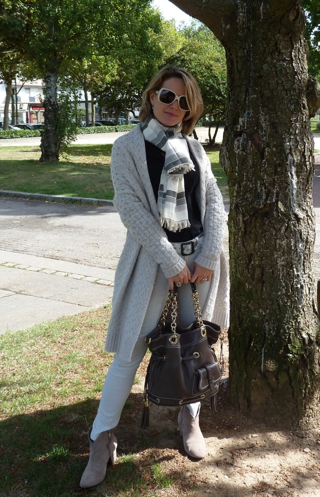 Gilet Sud Express Chemise Victoria Couture Slim Zara Boots Ash Handbag Lancel Cheich from Marrakech Sunglasses Gucci