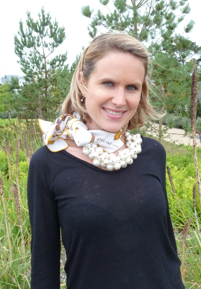Necklace by Zara Scarff by Céline