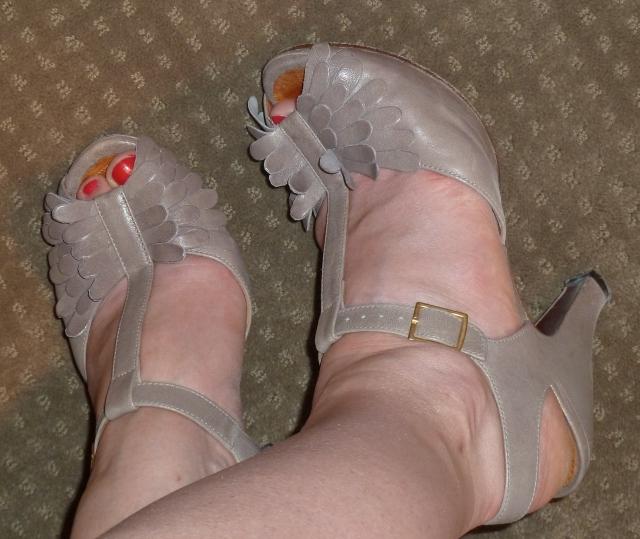 Zoom sur les sandales Chie Mihara