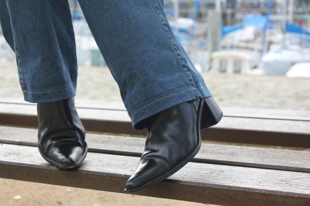 Détails boots Muratti