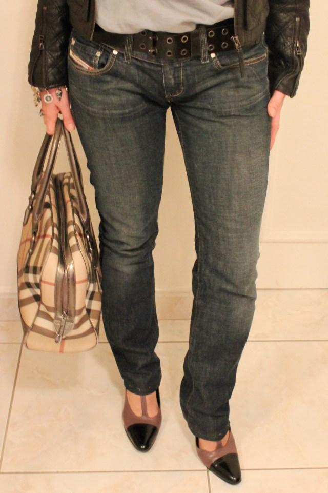 Zoom jeans Diesel