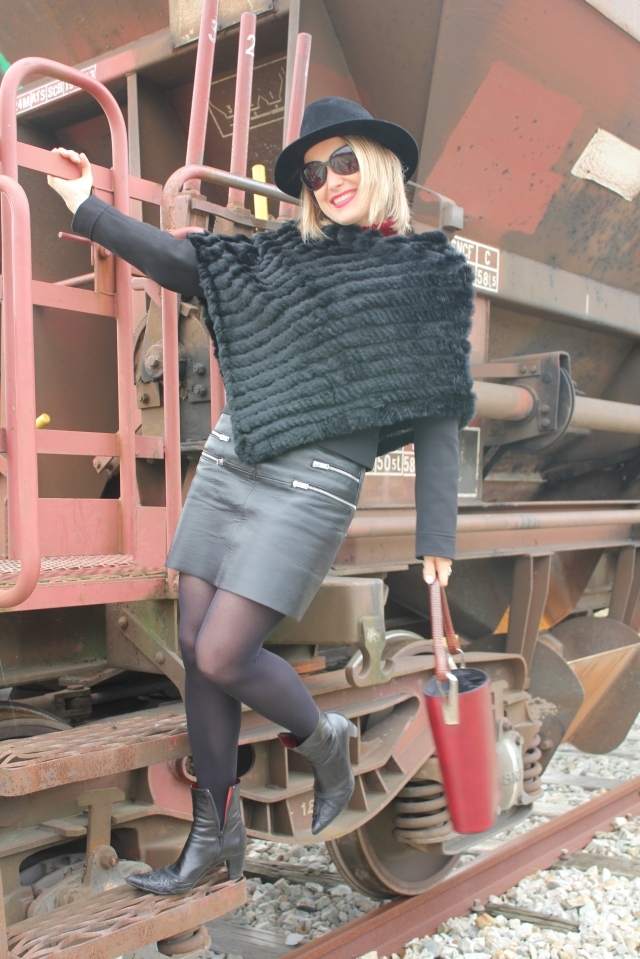Leather skirt, first show (1)
