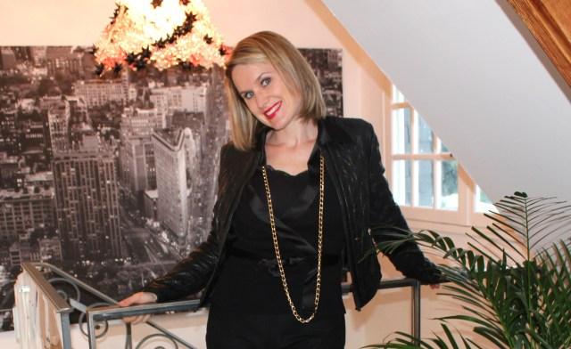 Veste en cuir Zara - Slim Naf Naf