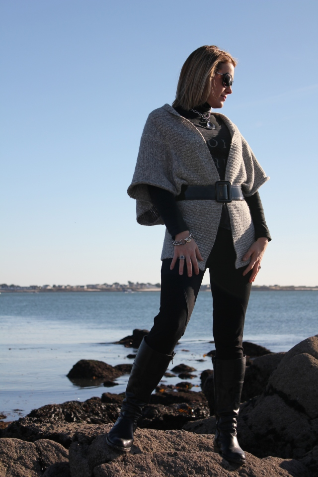 Black intense with grey touch (120)