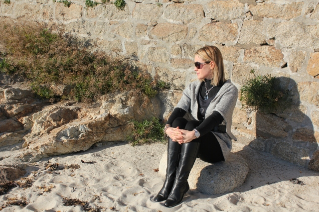 Black intense with grey touch (195)
