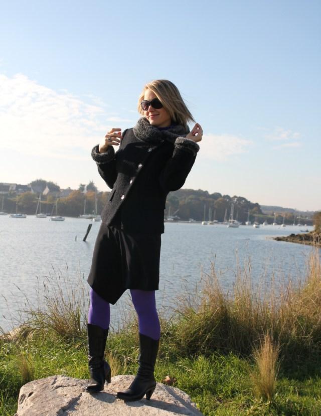 Full black with purple legs (15)