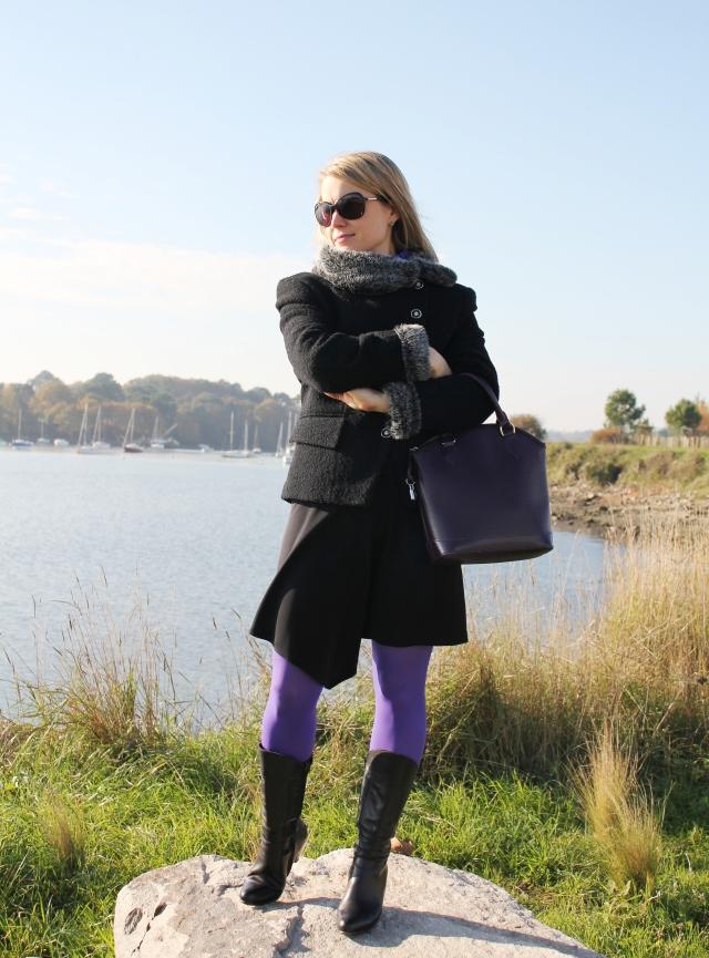 Full black with purple legs (9)
