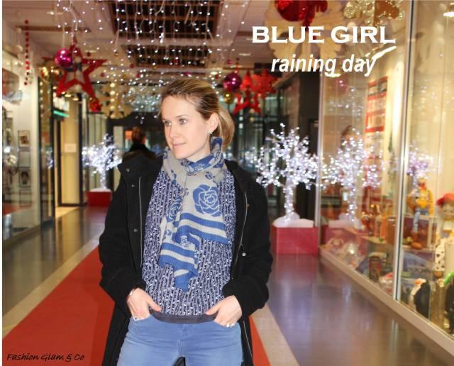 Blue girl  TITLE