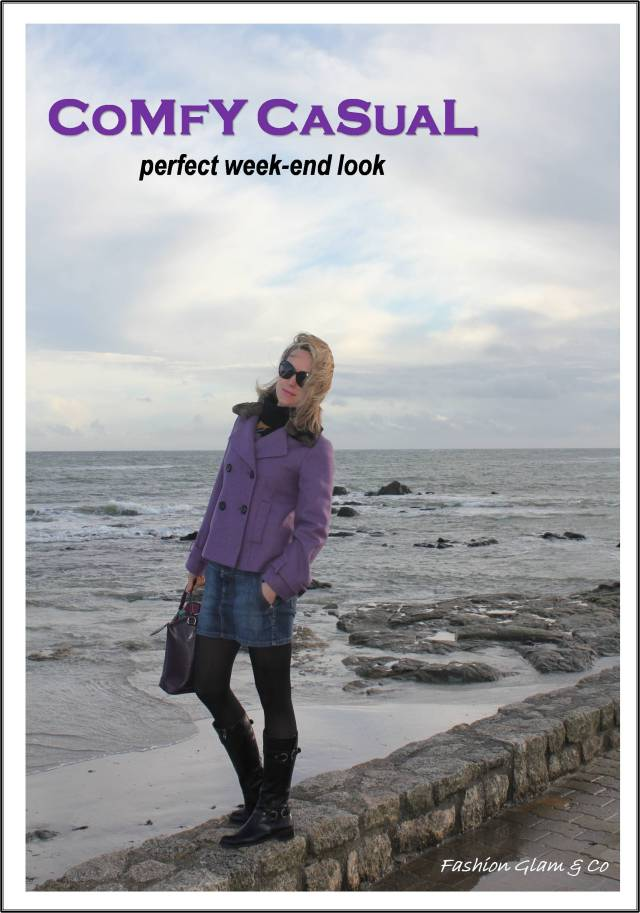 Comfy-casual perfect week-end look TITLE