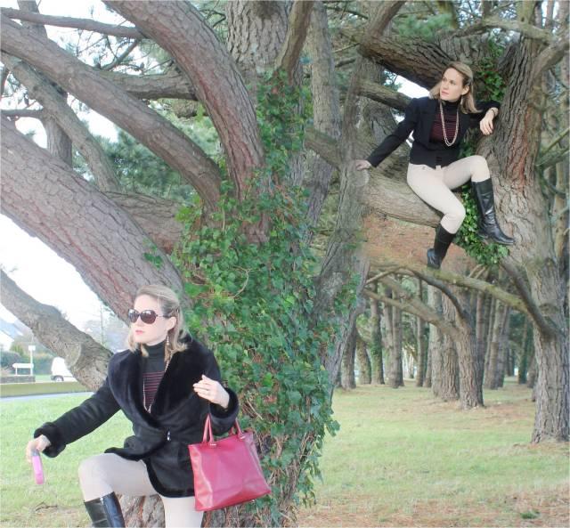 Dans mon arbre perchée duo 1