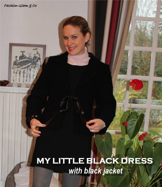 My little black dress TITLE