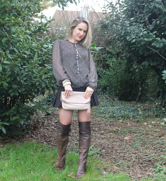 High boots with mini skirt (53)