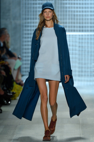 lacoste-spring-2014-women-baby-blue-dress-and-navy-blue-jacket