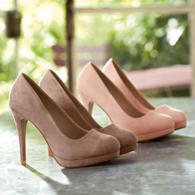 Mademoiselle R baby pink heels