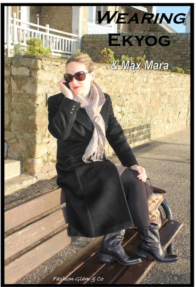 Wearing Ekyog & Max Mara TITLE