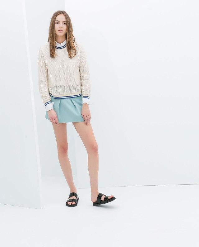 Zara baby blue short