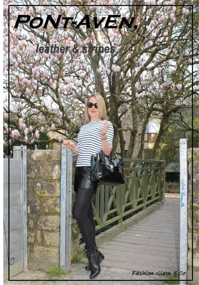 Pont Aven, leather & stripes TITLE