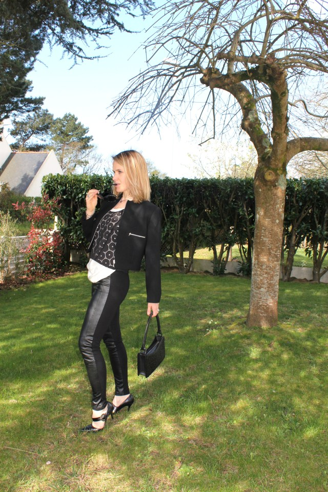 Black & white with leather & broderies anglaises (2)