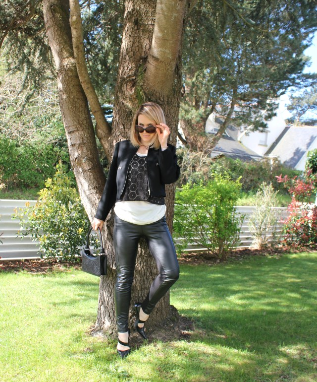 Black & white with leather & broderies anglaises (5)