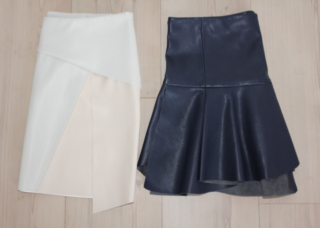 New In faux leather skirts (4)