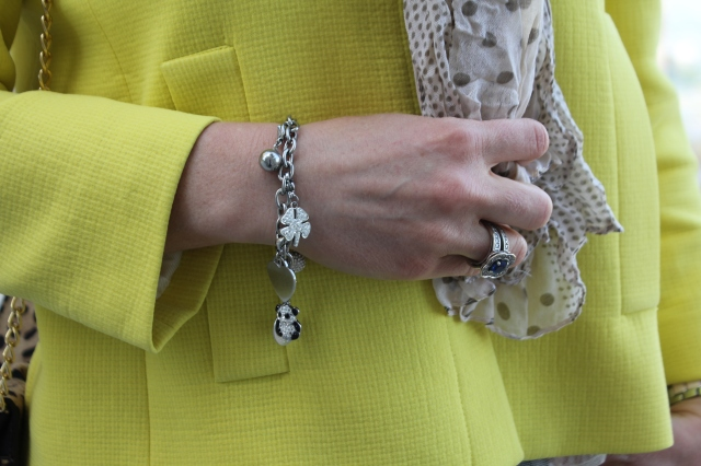 Yellow jacket & Graou clutch (8)
