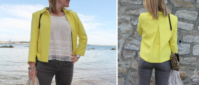 Yellow jacket & Graou clutch DUO 3