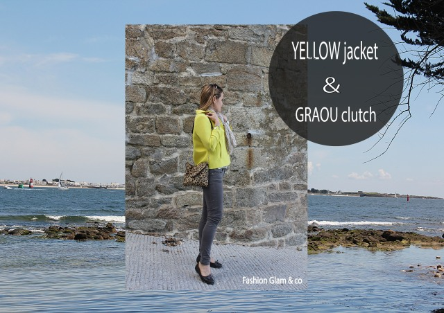 Yellow jacket & Graou Clutch TITRE